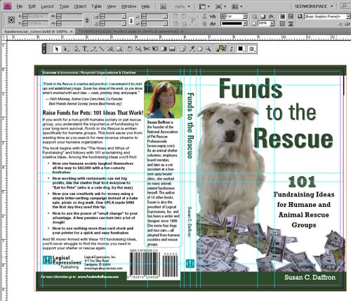 Book Cover Tutorial Indesign ~ Create a book cover in adobe indesign susan c daffron